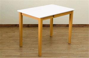 ハイグロスリビングテーブルハイグロス伸長式ハイグロスダイニングテーブルカラー:ライトブラウン