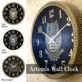 【壁掛時計】アルテミス[ウォールクロック]<静音/連続秒針>掛時計壁時計