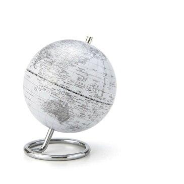 地球儀 インテリア デザイン文具 素敵な 地球儀S 5インチ ホワイト .