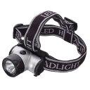 防災グッズ 超高輝度LED を採用 ハンディライト 1W スーパーLED白色×1灯タイプ コンパクト防雨ヘッドライト