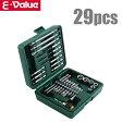 E-Value インパクト ビットセット ドライバー ビット&ソケットセット BS-4 29PCS [充電 電動 インパクトドライバー]