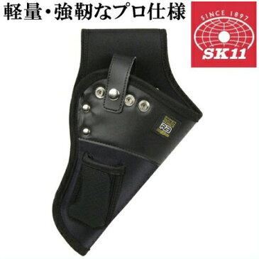 SK11 充電ドリルケース 工具差し RAD-27 [電動ドライバー ドリル 充電式 電動ドリルドライバー インパクトドライバー 腰袋 電工]