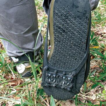 セフティ3 スニーカー用 刈払スパイク [農業用 滑り止め 草刈り機 エンジン式 刈払い機 雪 靴 滑り止め]