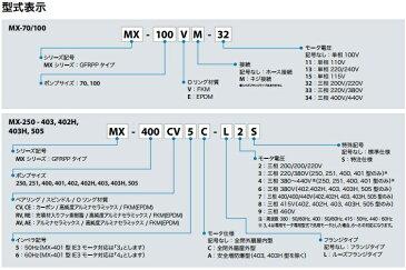 イワキ マグネットポンプ MX-250CV5-L2/MX-250CV6-L2 200V [ケミカル 海水用 循環ポンプ 水槽ポンプ 熱帯魚 水耕栽培 水槽ろ過器 水槽セット 生簀]