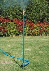ホースにつなぐだけ/2段階の高さ調節セフティ3 ミストシャワー 伸縮ガーデンミストクーラー 散...