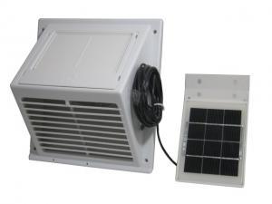 アスデンソラー換気扇ソーラーファンASV-102白/黒[倉庫屋外犬小屋トイレ]