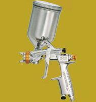 アネスト岩田(イワタ)スプレーガン極みシリーズ日本ペイント推奨モデルW-101-136NPGCフリーアングル塗料カップ付きセットノズル口径:1.3mm