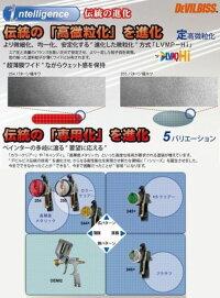 (数量限定)(K)DEVILBISSデビルビススプレーガンLUNA2i-R-254-1.0-G-K小型重力式フリーアングル塗料カップ