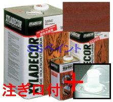 キシラデコール屋外用油性高性能木部保護塗料色:#103チーク16L(一斗缶サイズ)