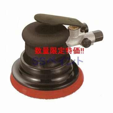 (D)(数量限定)信濃機販 SINANO SI-303(非吸塵式) ダブルアクションサンダー  エアツール 使用可能ペーパー:マジック式