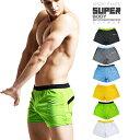 【Lサイズ】SUPERBODY 総メッシュ 軽量ショートパンツ ランニングパンツ M-XL ランパン ジョギパン ジョギング マラソン ウエア トレーニングウエア ハーフパンツ 半ズボン フィットネス ∞