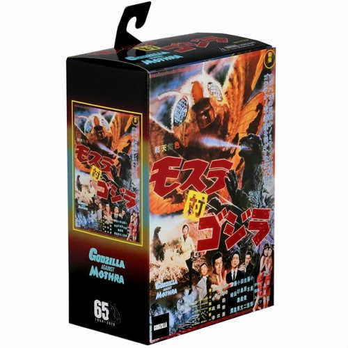 Godzilla vs Mothra Action Figure (ゴジラ vs モスラ 1964)ゴジラ アクションフィギア mothra アメリカ USA画像