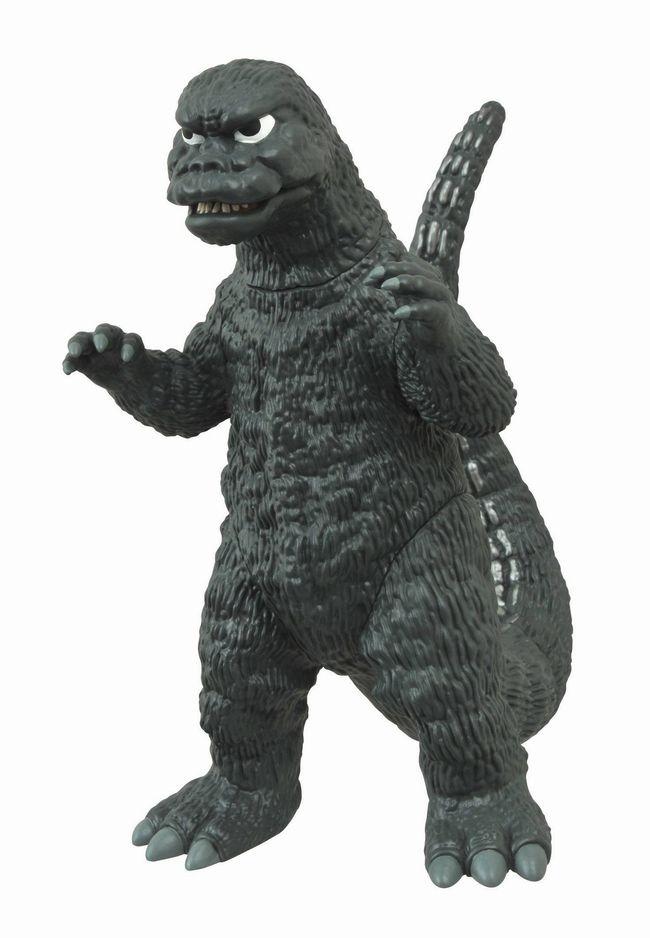 Godzilla 1974 Vinyl Figural Bank ゴジラ 1974年放映映画タイプ・貯金箱・コインバンク・フィギア・キングギドラ・メカゴジラ・ゴジラ・アメリカ・USA・アメリカ雑貨・フィギア画像