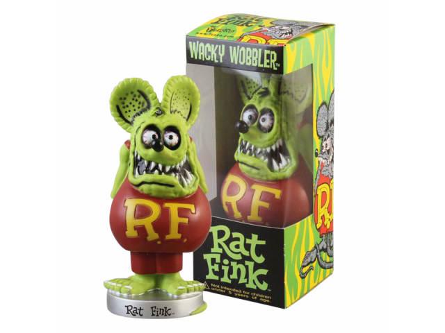 コレクション, フィギュア Funko Kustom Kulture Wacky Wobbler Rat Fink Bobble Head Glow in the Dark5TOYratfink