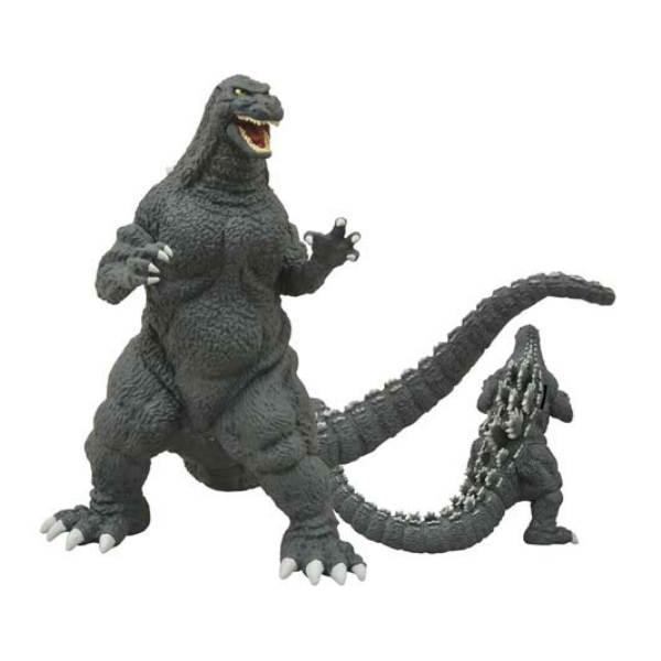 Godzilla 1989 Vinyl Figure Bank ゴジラ 貯金箱 コインバンク フィギア キングギドラ メカゴジラ ゴジラ アメリカ USA アメリカ雑貨画像