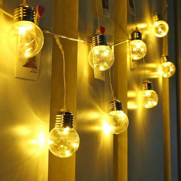 LE G45 LED Globe String Lights UL listed Backyard Patio LED  25球 G45 アウトドアーライティング パティオストリングライト・イルミネーション・ライト・電飾・業務用・ガーランドライト・パーティ・ランプ・アメリカ・モチーフ