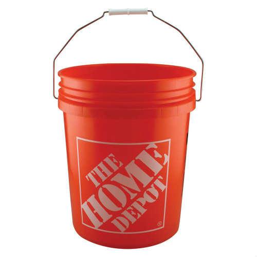 THE HOME DEPOT 5gallon Bucket 蓋付き!ホームデポ バケツ 5ガロン アメリカ アメリカン ゴミ箱