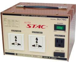 アップトランス100V⇒110V/220V/240V昇圧器最大容量:750W日本製SU750