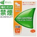 武田薬品工業 ニコレットフルーティミント 24個 (指定第2類医薬品)