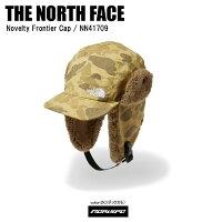 THE NORTH FACE ノースフェイス 帽子 NOVELTY FRONTIER CAP ノベルティフロンティアキャップ NN41709 ダックカモ ST
