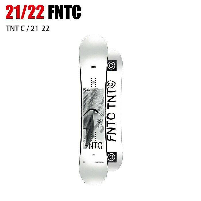 スノーボード用品, ボード 2022 FNTC TNT-C WHITE 21-22 ST