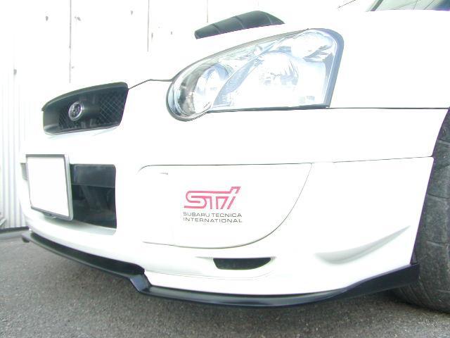 外装・エアロパーツ, フロントスポイラー  WRX-STI GDB(H1411H175)21(Stage21)