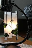 ステンドグラスランプ蔦ランプ和モダン卓上照明