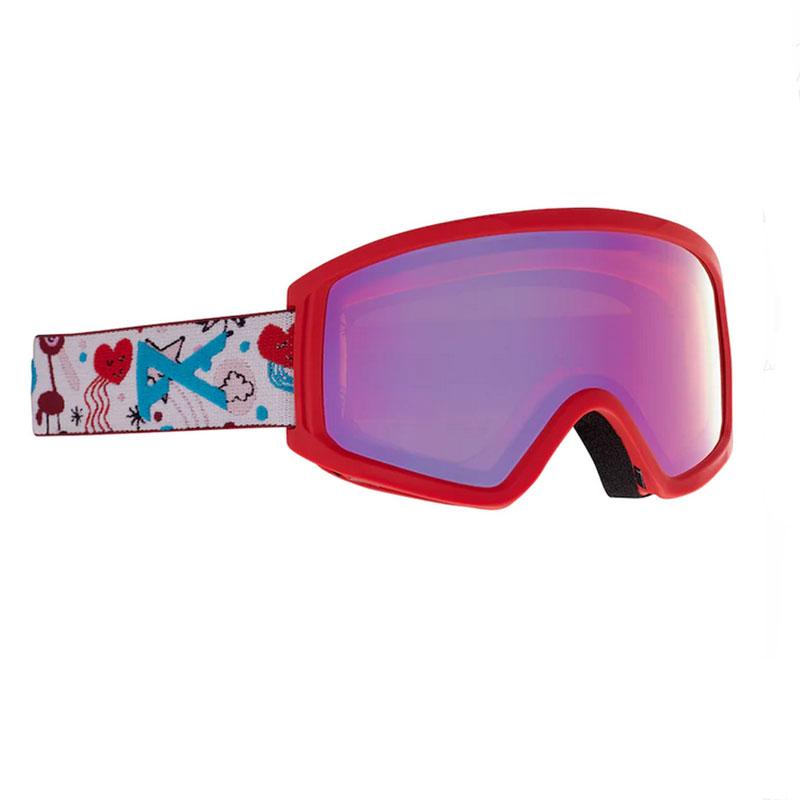 スキー・スノーボード用アクセサリー, ゴーグル 20-21Anon Anon 2.0 - : Doodle Red: Red Solex (25 S2)KidsYouthSNOWBOARDBURTON