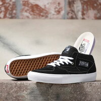 【VANS】バンズ【SKATEHALFCAB】Black/White(US企画)スケートボードスケボーシューズ靴スニーカーSKATEBOARDSHOES【送料無料】