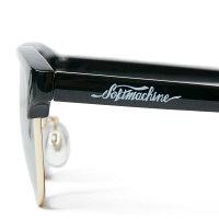 【Softmachine】ソフトマシーン【MASTERGLASS】BLACKxSMOKE【サングラス】眼鏡【ソフトマシン】スモークレンズ