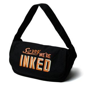【Softmachine】ソフトマシーン【NOTICE NEWS PAPER BAG】Black【ショルダーバッグ】鞄【ソフトマシン】送料無料