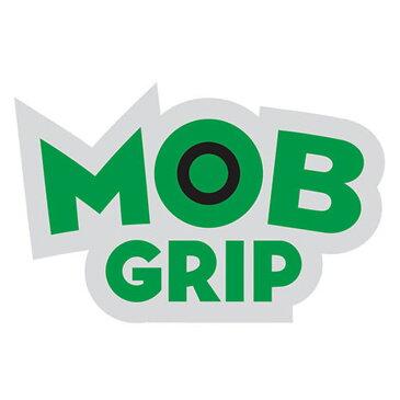 【Mob Grip】モブグリップ【Logo Sticker 3inch】8cm x 5.5cm【ステッカー】デッキテープ【SKATEBOARD】スケート【スケボー】ネコポス対応可