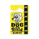 【MOONEYES】ムーンアイズ【DOG ON BOARD】パーキング パーミ...