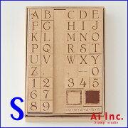 お買い得 オーナメントスタンプ アルファベット スタンプ シンプルアルファベット