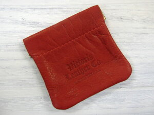 【SOLD OUT!】Victoria Leather MINI SNAPPER レッド [ビクトリアレザー 革小銭入れ]【メール便...