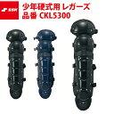 SSK 野球 少年硬式用 レガーズ ダブルカップ レガース CKL5300 ジュニア ssk19ss