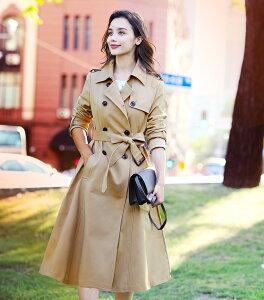 女優コート トレンチ きれい 上品 30代 40代 春アウター 似合わない問題解消