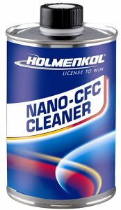 19-20 ホルメンコール HOLMENKOL nano-CFC クリーナー 500ml 24419焼付けで付着したワックスを完全に除去スキー スノーボード メンテナンス*