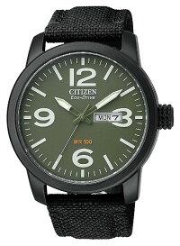 【送料無料】CITIZENECO-DRIVEシチズン海外モデルエコドライブミリタリーウォッチBM8475-00X