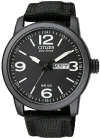 日本未発売シチズン逆輸入エコドライブミリタリーウォッチ時計CITIZENBM8475-34E