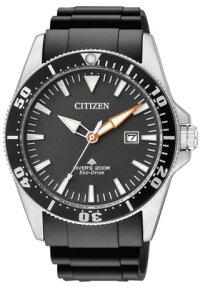CITIZENBN0100-42Eシチズン逆輸入エコドライブダイバーウォッチ時計ラバーベルト