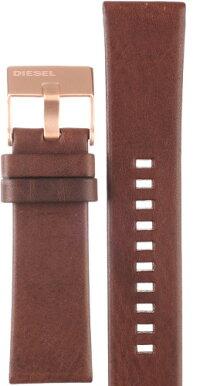 【時計用ベルト、バンド】イタリアブランドDIESELディーゼルDZ4325レザーバンドベルトストラップ