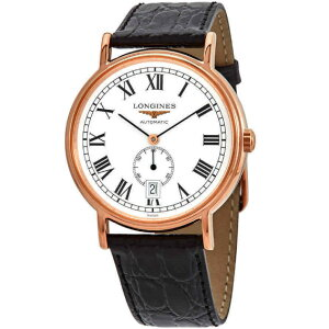 LONGINES L48051112 Longines Automatic volume men's watch watch rose gold [Free shipping] [No cash on delivery] [2 year warranty]