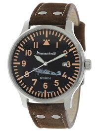【送料無料】MesserschmittbyAristoメッサーシュミットbyアリストウォッチレザーベルト腕時計メンズBF109E-3