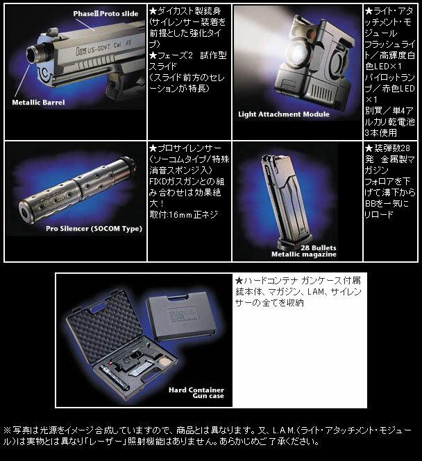 東京マルイ SOCOM Mk23 フルセット 固定スライドガン