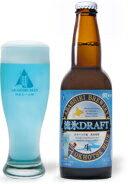 青いビールで気分爽快!網走ビール  流氷ドラフト 330ml×6本[ギフト][地ビール][楽ギフ_包装...