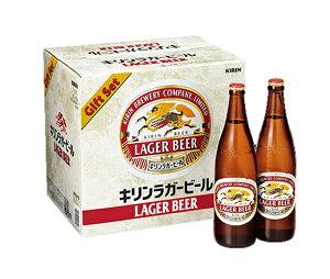 28.送料無料K-NRLB12キリンラガービール大びんセット御歳暮ギフトビールギフト瓶ビール沖縄は、別途2,500円