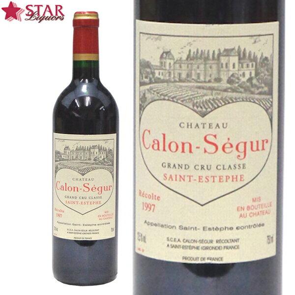 ワイン, 赤ワイン  1997Ch.Calon Segur 750ml BBQ