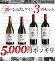 5,000円ポッキリお試しワイン3本セット3本×750mlフランスワインヴァン・ド・フランス【RCP】【HLS_DU】02P24Dec15