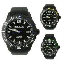 スパルコウォッチCARBON(カーボン)自動巻き腕時計200m防水